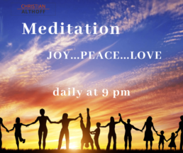 Meditation Englisch